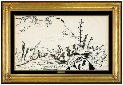 Milton Avery, 'Ridge Study', 1950
