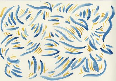 Sarah Crowner, 'Stripe Sketch 9', 2020