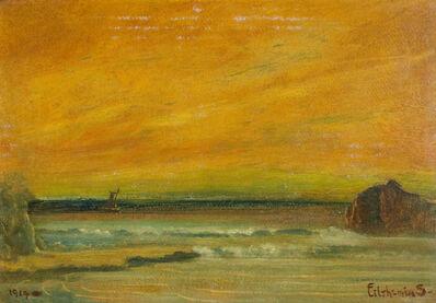 Louis Michel Eilshemius, 'Beach Scene', 1919