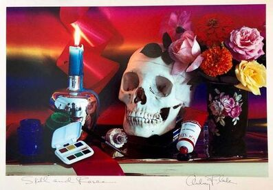 Audrey Flack, 'Skull and Roses', 1983-1984