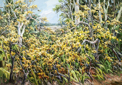 Jun Chen (b. 1960), 'Yellow Bush', 2020