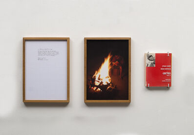 Daniel de Paula, 'ao diálogo, através do fogo, from the readings series', 2014