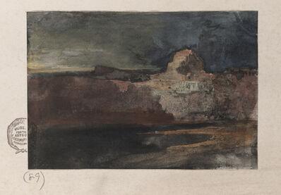 Thomas Moran, 'Grand Canyon in Stormy Weather, Arizona', ca. 1908