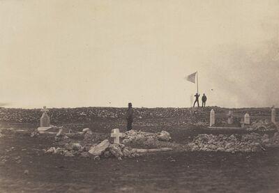 Roger Fenton, 'Cemetery, Cathcart's Hill', 1855