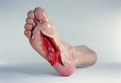 CAO  Hui, 'Foot 脚', 2007
