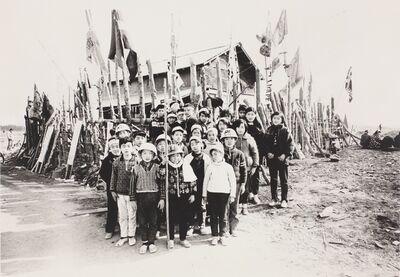 Kazuo Kitai, 'Children's Resistance Corps, Narita, Chiba (Sanrizuka series)', 1970