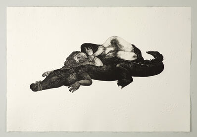 Diane Victor, 'Let Sleeping Crocs Lie', 2012