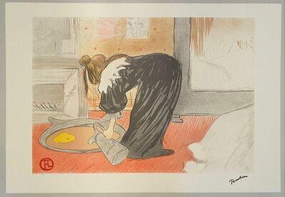 Henri de Toulouse-Lautrec, 'Elles, femme au tub', 1982