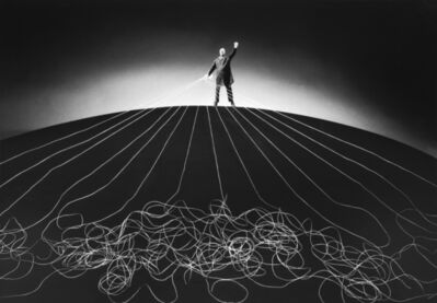 Gilbert Garcin, '374 – Le maître du monde – The master of the world', 2008