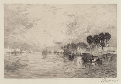 Thomas Moran, 'Morning on the St. Johns, Florida', 1886