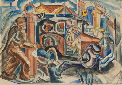 James Daugherty, 'Five Gallons of Gas', 1930