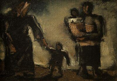 Josef Herman RA, 'Women and Children', c. 1950
