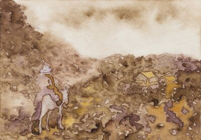 Shi Xinji, 'Walking in the Mountain', 2014