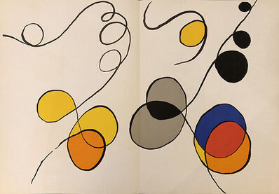 Alexander Calder, 'Derrière le Miroir No. 173 (Abstract IV)', 1968