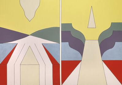Renato Mambor, 'Tessere per scegliere la via', 2008