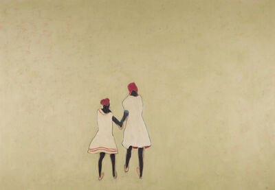 Anne Rothenstein, 'Two Girls ', 2019