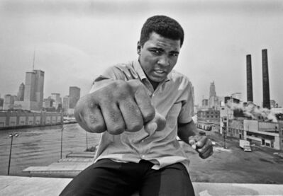 Thomas Hoepker, 'Muhammad Ali wins fight against Brian in London', 1966
