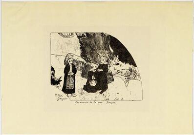 Paul Gauguin, 'Les drames de la mer Bretagne', 1889