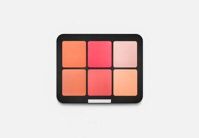 Sylvie Fleury, 'Make Up For Ever Ultra HD Blush Palette', 2019