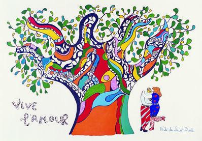 Niki de Saint Phalle & Jean Tinguely, 'Vive l'Amour ', 1990