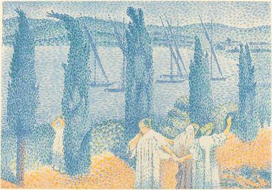 Henri-Edmond Cross, 'La Promenade', 1897