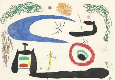 Joan Miró, 'Dormir Sous La Lune (Sleeping under the Moon)', 1969