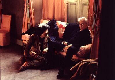 Dieter Blum, 'Herbert von Karajan and Seiji Ozawa', 1981