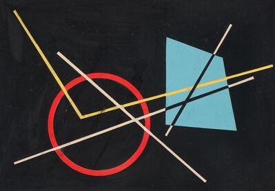 José Pedro Costigliolo, 'Proyecto Mural para Bastarrica Propaganda', 1954