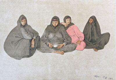 Francisco Zúñiga, 'Impressions of Egipto (Egypt) plate 9', 1982