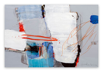 Greet Helsen, 'Intervall (Abstract Expressionism painting)', 2014