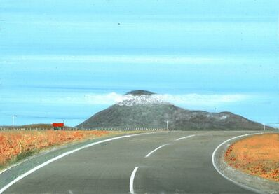 Jock McFadyen, 'Uist road', 2017