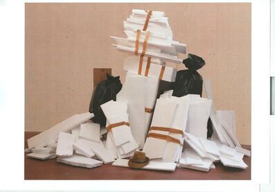Gustav Metzger, 'Homage to Lanificio Bonotto', 1990