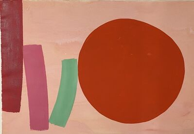 William Perehudoff, 'AP72-015, Acrylic on paper', 1972
