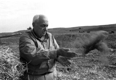 Harry Benson, 'Ariel Sharon', 2001