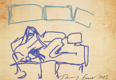 Tracey Emin, 'iPad Postcard Sketches (4 works)', 2013
