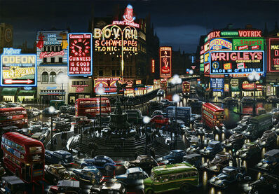 Don Jacot, 'Piccadilly Circus, 1949', 2020
