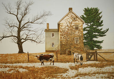 Peter Sculthorpe, 'The Longhorns', 2020