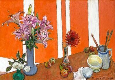Joseph Plaskett, 'Lily, Red Dahlia, White Rose', 2000