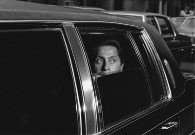 Harry Benson, 'Valentino in Limo, New York', 1984