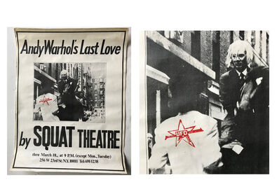 "Andy Warhol, '""Andy Warhol's Last Love- by Squat Theatre"", 1978, Poster/Paste-Up with Red Stamp, Ex. NYU Collection', 1978"