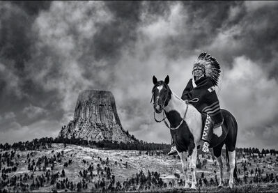 David Yarrow, 'Chief', 2020