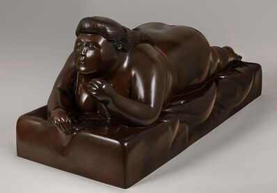 Fernando Botero, 'Donna Sdraita con Capelli Lunghi (Reclining Woman with Long Hair)', 2015