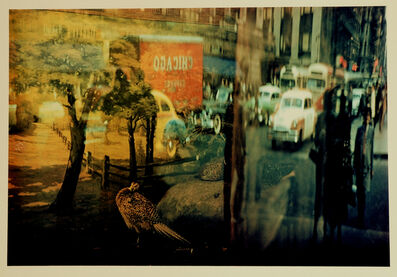 Ernst Haas, 'Reflection - 42nd Street, NY', 1952