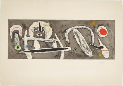 Joan Miró, 'Grand vent (Great Wind)', 1960
