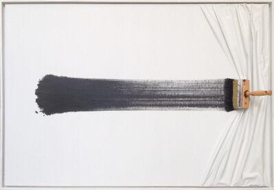 Jean-Paul Donadini, 'Brosse arretée blanche et noir'