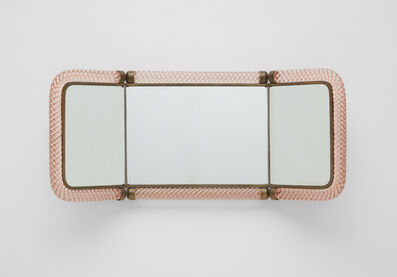 Venini, 'Folding mirror, model no. 21', circa 1939