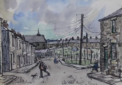 Norman Cornish, 'Salvin Street'