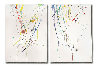 Ginny Sykes, 'Tracers #1 (Diptych)'