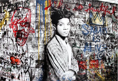 Mr. Brainwash, 'Samo is Alive - Basquiat', 2016