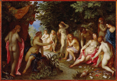 Jan Brueghel, the elder and Hendrick van Balen, 'Diana and Callisto', 1605